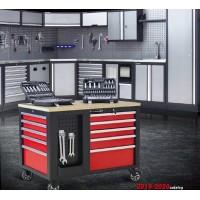 Ящики для инструментов, тележки, верстаки (0)